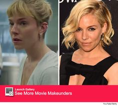 hair of sienna miller in burnt - Google Search