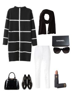 """""""Untitled #313"""" by naifahsboutique ❤ liked on Polyvore featuring Dolce&Gabbana, Burberry, Soia & Kyo, Relaxfeel, Lipstick Queen and Chanel"""