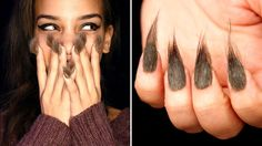 Hairy nails? New trend?