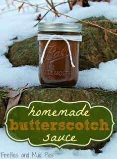 Homemade Butterscotch Sauce - so yummy!