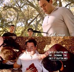 When I first say this I about cried. Coach is one of my favorite characters and to see him almost die was traumatic