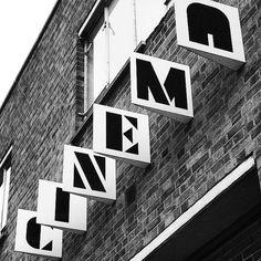 The Aubin Cinema Signage - Redchurch Street - Shoreditch