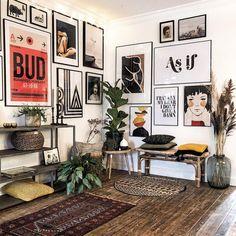Decoration Inspiration, Home Decor Inspiration, Living Room Decor, Bedroom Decor, Wall Decor, Deco House, Home Interior Design, Interior Decorating, Home And Deco