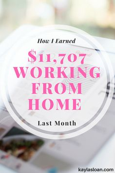 Here's an inside look at how I earned and spent money in my business last month.