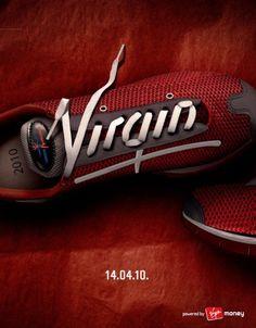A 2010 Virgin Marathon teaser advert.
