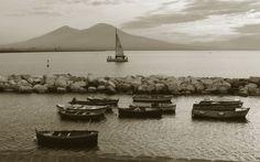 Golfo di Napoli e il Vesuvio - landscape