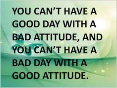 MAXMILLIAN THE SECOND: You can't have a good day with.....