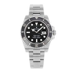 Rolex Submariner Black Dial Ceramic Bezel Steel Mens Watch 116610LN ** Be sure to check out this awesome product.