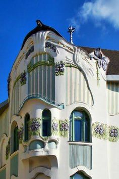 Art nouveau, Reok Palace, Hungary