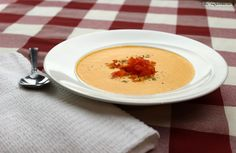 Made in a blender Raw red pepper soup recipe | The Rawtarian