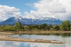 Lathrop State Park and the Spanish Peaks.  Lathrop is Colorado's oldest and first State Park located near Walsenburg.  http://fineartamerica.com/featured/lathrop-state-park-aaron-spong.html