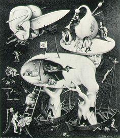 M.C Escher - Hell