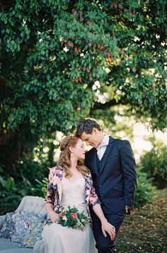 Bride and Groom With Vintage Style | Byron Loves Fawn Photography on @polkadotbride via @aislesociety