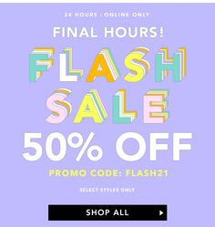 Forever 21 - Flash Sale 50% Off