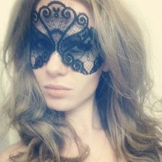Black Lace Face Mask - Catwoman Mask - Masquerade Mask - Halloween Black Mask - Sexy Mask - Sexy Costume Lace Mask