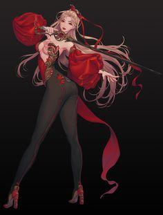 Sword Dancer, Seul Gi Shin (YOYA)