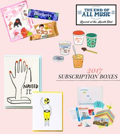 @DesignSponge 2017 Gift Guide: Subscription Services - featuring Nicely Noted!