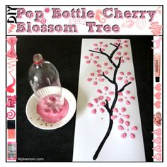 """""""Pop Bottle Cherry Blossom Tree"""" by tip-girliees on Polyvore"""
