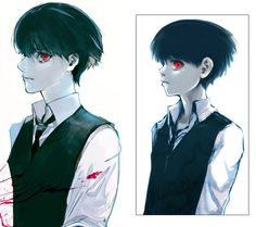 "soooo Ishida is redrawing the first chapter of Tokyo Ghoul ""tragedy"" I'm really excited to see how it's gonna turn up!"