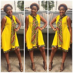 @ann_ita1 In @adjoayeboahclothing #TheYellowCollection