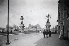 1917 - Viaduto do Chá - foto de Aurélio Becherini