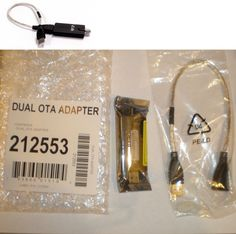 Antennas and Dishes: Dish Network Over The Air Ota Dual Tuner Usb Adapter Dongle Hopper 1,2,3 + Wally BUY IT NOW ONLY: $64.95