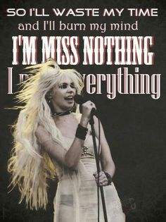 Miss Nothing. The Pretty Reckless