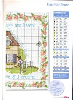 many free cross stitch patterns