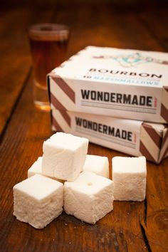 Guinness and Bourbon Marshmallows