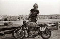 Dave Roper, the only American ever to take a win at the Isle of Man TT