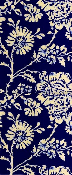 Would love this Batik-inspired nontraditional floral pattern in an very large size...