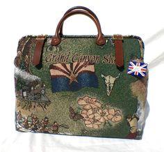 Carpet Bag Weekend/ Overnight/ Flight/ Carry On/ by LondonJacks