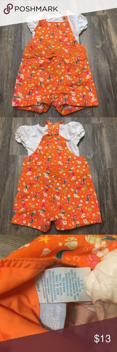 Disney Ariel Overalls sz 24 months Very cute Disney's Ariel overall's size 24 months girls. Gently worn in new condition. Great for the summer! Disney Bottoms Overalls