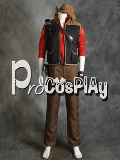 Team Fortress2 Sniper Red Cosplay Costume by procosplay on Etsy, $108.00