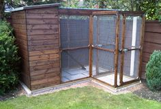 ellis cat run with cat house and security porch and waterproof run