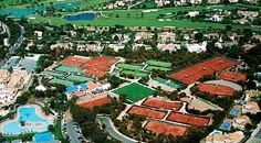La Manga Club Resort Tennis Facilities and how father and son practiced and improved their game!