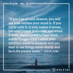 How does finding creative #flow keep you in the moment? #mindfulmatter