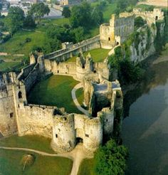 Pembroke castle Wales--I want to see this. The Tudor Dynasty is the subject of my class this semester, Henry VII was born here.