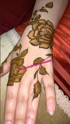 Arabian Mehndi Design, Khafif Mehndi Design, Floral Henna Designs, Mehndi Designs Book, Back Hand Mehndi Designs, Arabic Henna Designs, Mehndi Designs For Girls, Mehndi Designs For Beginners, Modern Mehndi Designs