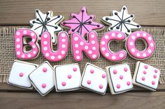 Bunco Party Favors by GuiltyConfections on Etsy