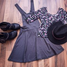 #fashion #dress #hat #evasplace