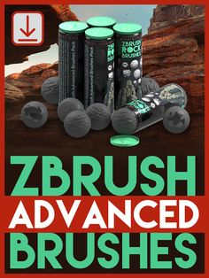 """ZBrush video tutorial on how to use """"double action"""" brushes and understanding a few of the key brush modifiers. Zbrush Tutorial, 3d Tutorial, Modeling Tips, Modelos 3d, Reference Images, Cgi, Dungeons And Dragons, Unity, Maya"""