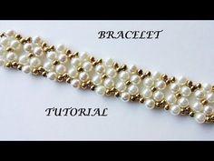 How to diy elegant bracelet with pearls - YouTube