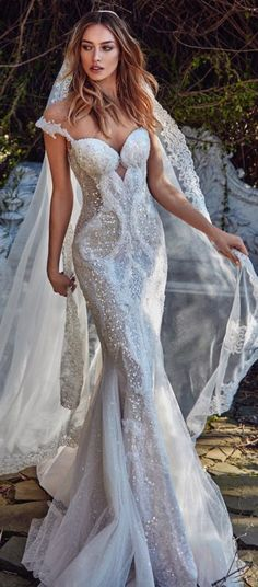 Galia Lahav Spring 2017 Collection - Le Secret Royal❤❁ ƸӜƷ Sg33❤¡¡¡ ✿ ❀¸¸¸.•*´¯`❀ ✿SweEts Candy  KiNd Of LoVe