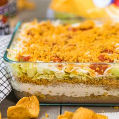 Recipe Written by Becky Hardin // @thecookierookie Mexican Dip Recipes, Mexican Dishes, Mexican Meals, Easy Cooking, Cooking Recipes, Potluck Recipes, Bacon And Butter, Layer Dip, Easy Meals For Kids