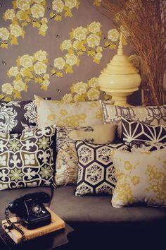 Ashe textiles, homewares, art prints, fabrics, wall papers. Australian decor, home decor, Australian Design. www.ashestore.com.au