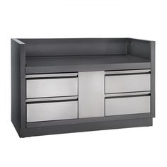 Creating your new Outdoor BBQ Kitchen is made simple with the Napoleon Oasis Modular Outdoor BBQ Kitchen Components. This Napoleon Oasis Undergrill Cabinet is design to fit the Napoleon Pro series built in 825 Grill head which simply fits inside the gap. Napoleon, Outdoor Bbq Kitchen, Outdoor Kitchens, Bbq Store, Gas And Charcoal Grill, Gas Pipe, Barbecue Area, Color Powder, Outdoor Furniture