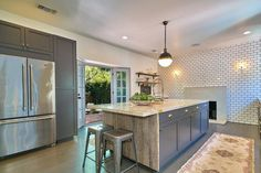 Katharine McPhee, 'American Idol' alum and star of the cyber-tech adventure series 'Scorpion,' has listed a property in Toluca Lake for sale. Becoming A Realtor, Fireplace Set, Toluca Lake, Katharine Mcphee, Storey Homes, Sell Your House Fast, Celebrity Houses, Home Photo, Cozy House