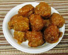 Debbi Does Dinner... Healthy & Low Calorie: Pineapple Meatballs