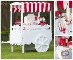 Candy bar cart. Any event needs this! :) Customised to your theme colours. Include take home containers and a whole lotta fun!